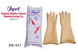 Electrical Shock Proof Safety Hand Glove As Per EN