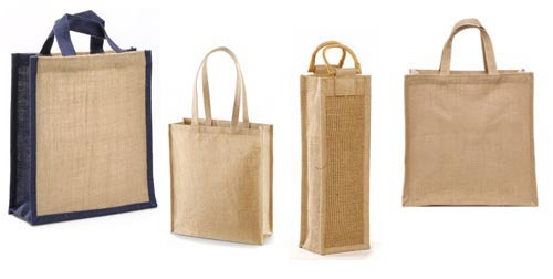 Jute Grocery Shopping Bags