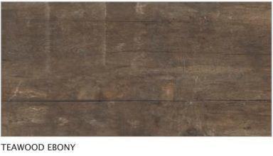 Teawood Ebony Vitrified Tiles