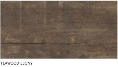 Teawood Ebony Vitrified Tiles