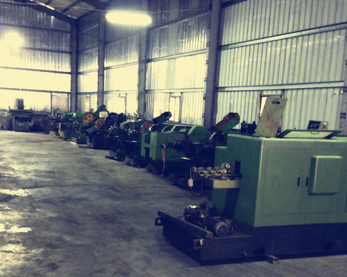 Used Heading & Thread Rolling Machine