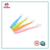 Health Softness Silicone Spoon for Newborn Baby