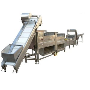 Fully Automatic Banana Chip Line