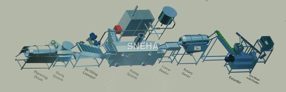 Kurkure Production Line Batch Type