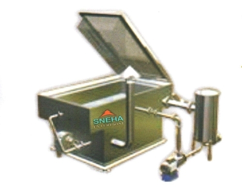 Direct Heat Rectangular Fryer