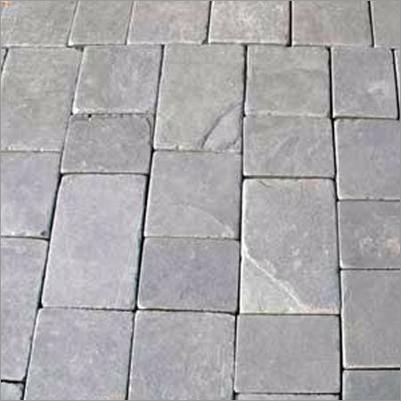Lime Black Cobble Stones