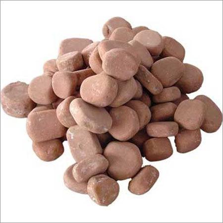 Red Pebbles Stones
