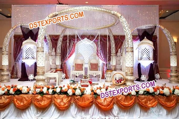 Indian Wedding Ancient Tusk Mandap