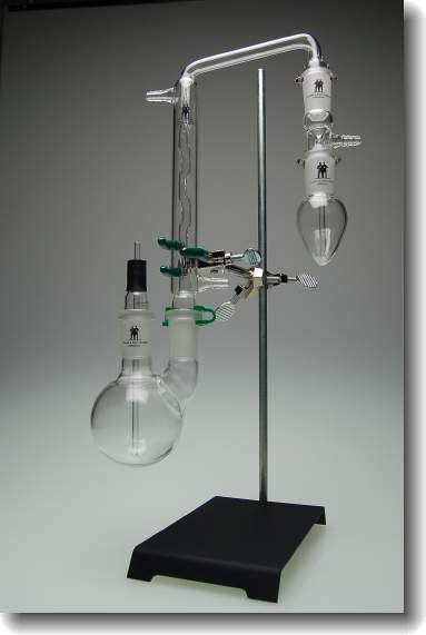 Sulphur Apparatus by Lamp Method