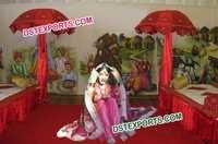 Punjabi Dulhan Fiber Statue