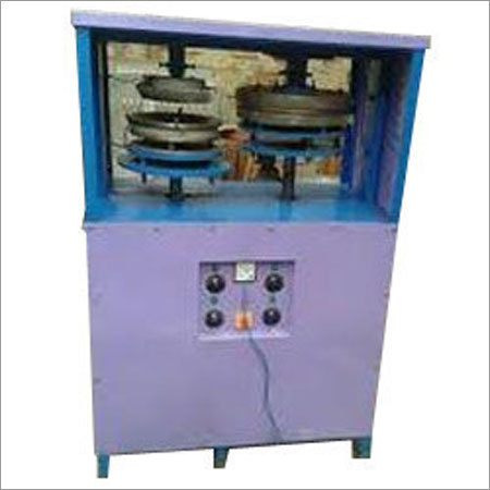 Semi Automatic Double Die Dona Plate Making Machine