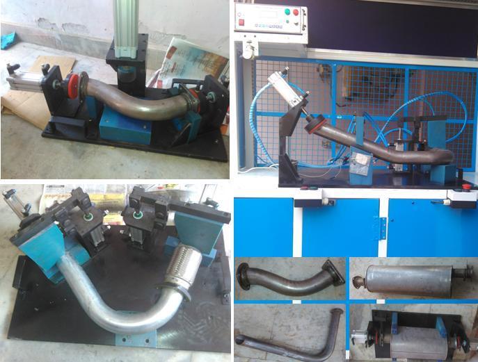 Leakage Testing Machine for Muffler Assembly
