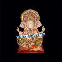 Fiber Lord Ganesha Fiber Statue