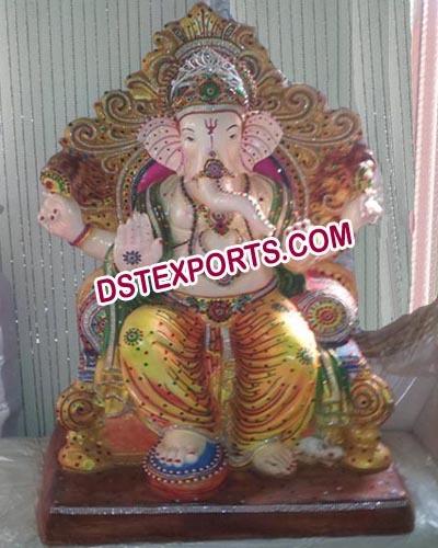 Fiber Ganesha Statue Fiber Statue