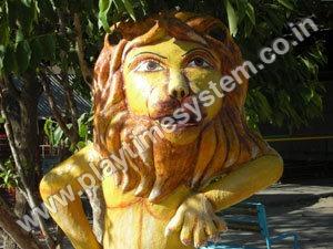 FRP Animal Statue -Lion