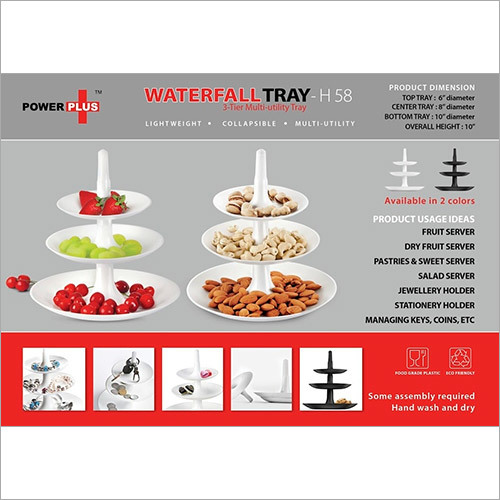 Power plus Waterfall tray:
