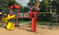 Multi Play System with Wave Slide