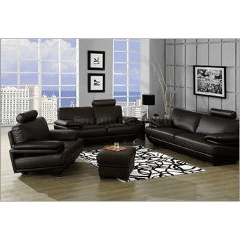 Leather Finish Sofa