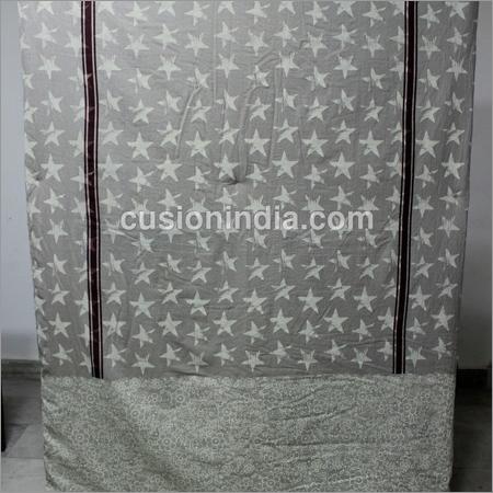 Star & Lace Printed Designer Duvet Cover