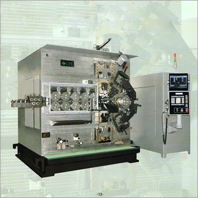CK590 Spring Making Machine
