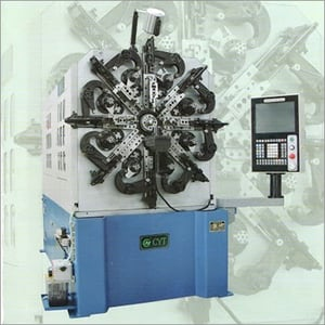 CNC642A Wire Rotating Spring Forming Machine