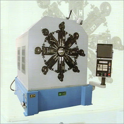 CNC124Camless CNC Spring Rotating Forming Machine