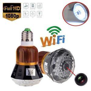 WiFi Bulb Camera (Model No.063)