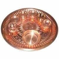 Copper Arti Thali