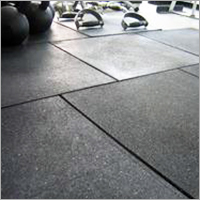 Rubber Exercise Floor Tiles