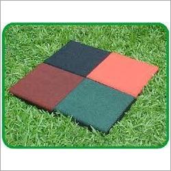 Outdoor Rubber Floor Tiles