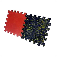Interlocking Rubber Floor Tiles