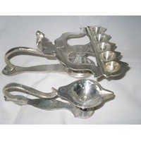 German Silver Mangal Arti Deep
