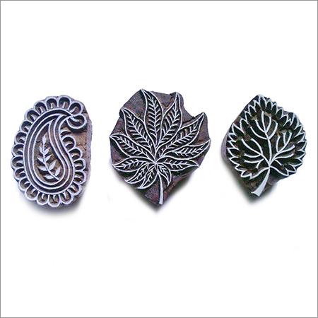 Wooden Mix Leaf Printing Stamp