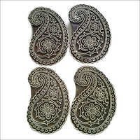 Paisley Textile Printing Blocks for paper craft making n printing