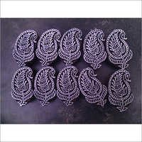 paisley henna stamps for printing on fabric 10 pcs set