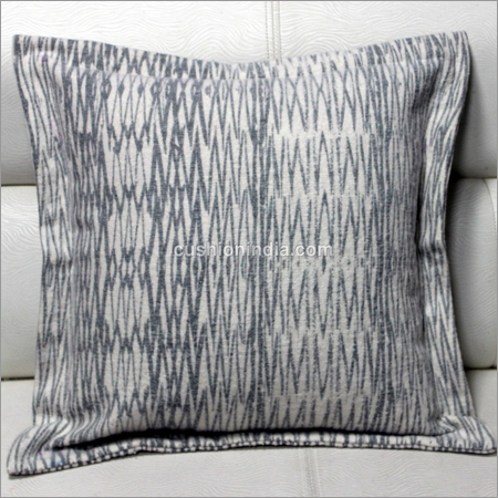 Soft Feel Line Art Printed Cotton Cushion Cover