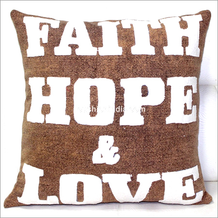 Inspirational Write up Designer Cushion Cover