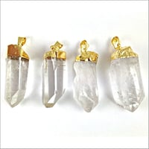 Crystal Gemstone Pendant