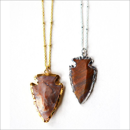 Natural Agate Arrowhead