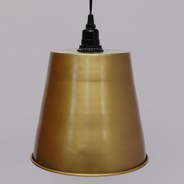 Iron Pendant Lamps Brass Powder Coated