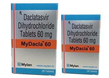 Daclatasvir Tablets 60mg Mylan India