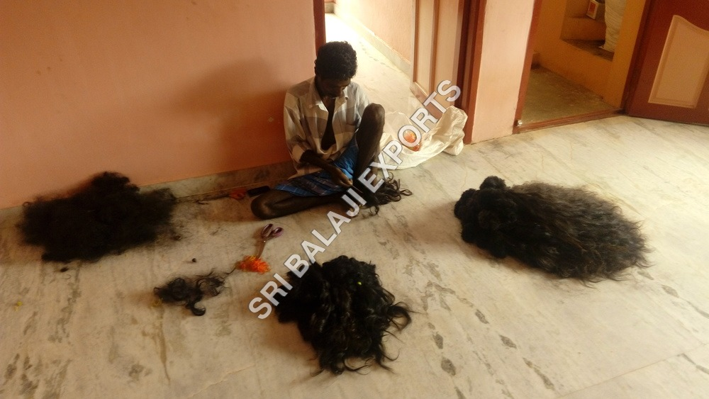 Human Hair Factory Images