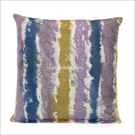 Printed  Cotton - Linen  Cushion Cover