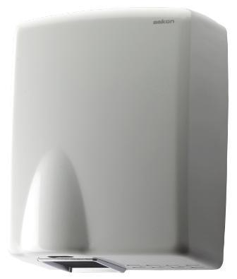 Steel Single Blower Hand Dryer (White)