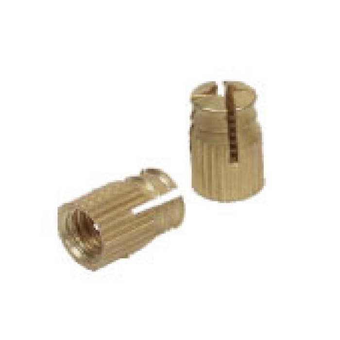 Brass Knurled Round Anchor