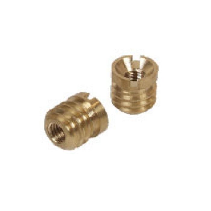 Brass Vermi Thread Special Inserts