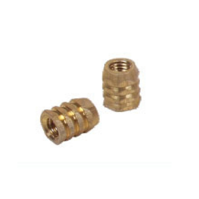 Brass Hex Grooved Nut