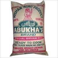 ABUKHA'S Biriyani Rice 25Kg