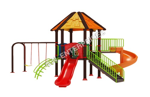 Gazebo Playground Slides