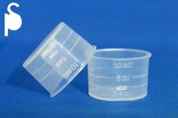 10ml 25mm Flat Measuring Cups